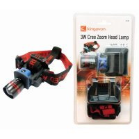 Kingavon 3 Watt Cree Zoom Head Lamp