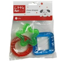 Little Petface Chew Shapes (Pack of 3)