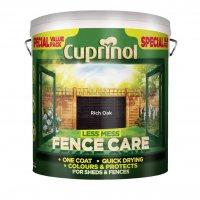 Cuprinol Less Mess Fence Care Rich Oak 6 Litre