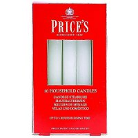 Price's Household Candles (Pack of 10)
