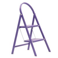 Abru 2 Tread Coloured Stepstool - Purple