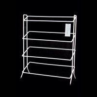 Delfinware 4 Tier Shoe Rack White