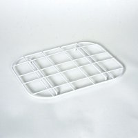 delfinware std sink mat white