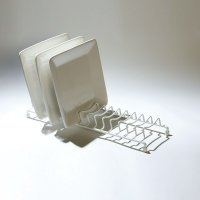 Delfinware Popular Plate Rack White
