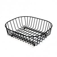 delfinware oval sink basket black