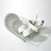 Delfinware Large Traditional Dish Drainer Stainless Steel