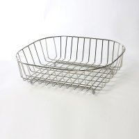 Delfinware Oval Sink Basket Stainless Steel