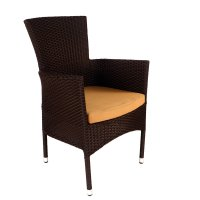 Byron Manor Stockholm Chairs (Set of 2) - Brown