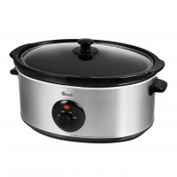 Swan 6.5 Litre Stainless Steel Slow Cooker