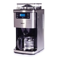 Igenix Bean to Cup Digital Filter Coffee Maker Brushed Stainless Steel