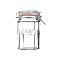 Kilner Facetted Clip Top Jar 0.95lt