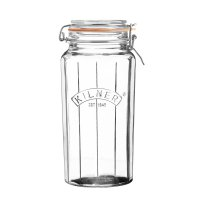 Kilner Facetted Clip Top Jar 1.8lt