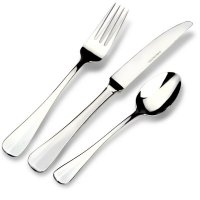 Grunwerg Parish Collection Stainless Steel Cutlery Set 24pc - Baguette