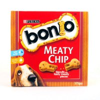 Purina Bonio Meaty Chip Biscuits 375g