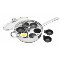 "clearview s s six hole egg poacher 28cm (11""),"