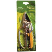 "Green Blade 8"" Deluxe Ratchet Pruner"
