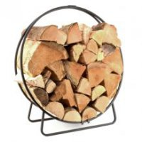Manor Reproductions Log Circle - Black - 65