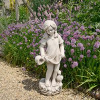 Solstice Sculptures Michelle 71cm Antique Stone Effect