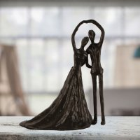 Elur Wedding Dance Iron Figurine 19cm Mocha