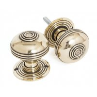 Aged Brass Prestbury 63mm Mortice/Rim Knob Set