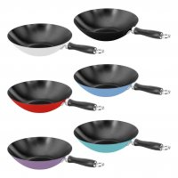 Judge Wacky Wok Non-Stick 31cm - Assorted Colours