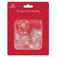 Festive Wonderland Suction Hooks Large (Pack of 10)