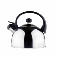 Café Olé Stainless Steel Stove Top Kettle 2.5lt - Induction - Mirror Finish