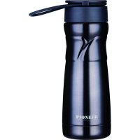 Pioneer Drinks Pod with Strainer 450ml - Black