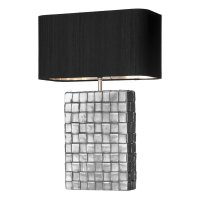 David Hunt Element Table Lamp Pewter Base Only
