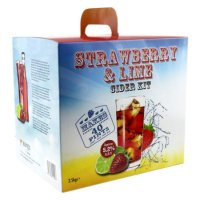 Young's Ubrew Cider Kit (40 Pints) - Strawberry & Lime