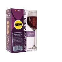 Young's Ubrew Winebuddy 6 Bottle Kit - Blackberry