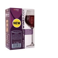Young's Ubrew Winebuddy 6 Bottle Kit - Blackcherry
