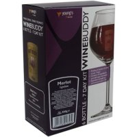 Young's Ubrew Winebuddy 6 Bottle Kit - Merlot