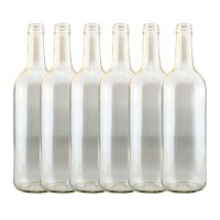 Young's Ubrew Wine Bottles (Pack of 6) - Clear