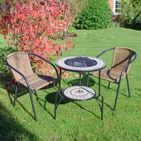 Summer Terrace Brava Fire Pit 60cm Set - San Remo