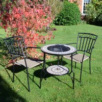 Summer Terrace Brava Fire Pit 60cm Set - Modena