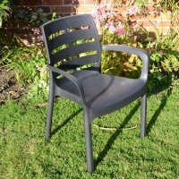 Trabella Siena Chairs (Set of 2) - Anthracite