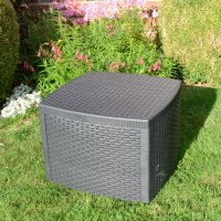 Trabella Sicily  Side Table Anthracite