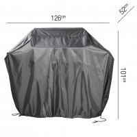 Pacific Lifestyle Gas Barbecue Aerocover - 126 x 52 x 101cm