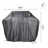 Pacific Lifestyle Gas Barbecue Aerocover 148 x 61 x 110cm