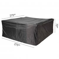 Pacific Lifestyle Lounge Set Aerocover Square 275 x 70cm