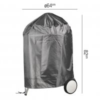 Pacific Lifestyle Barbecue Kettle Aerocover Round 64 x 83cm