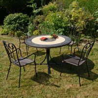 Byron Manor St Malo Dining Table with 4 Verona Chairs