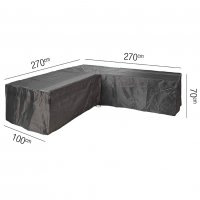 Pacific Lifestyle Lounge Set Aerocover L-Shape 270 x 270 x 70cm