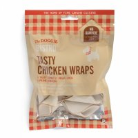 Petface The Doggie Bistro Tasty Chicken Wraps 100g