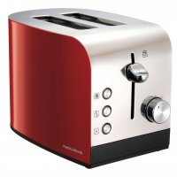 Morphy Richards Equip 2 Slice Toaster Red