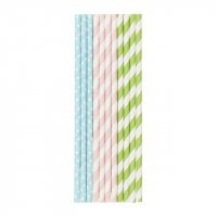 Duni Recyclable Paper Straws (Pack of 25)