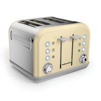Morphy Richards Accents 4 Slice Toaster Cream