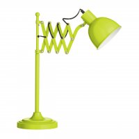 Lime Green Extendable Table Lamp