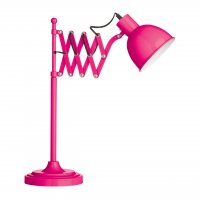 Hot Pink Extendable Table Lamp